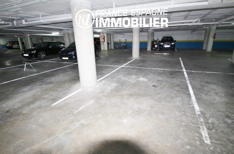 appartement costa brava, ref.2647, parking privé en sous sol
