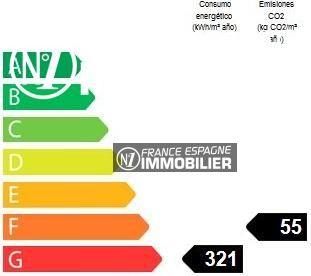 immobilier espagne pas cher: appartement ref.1128, bilan énergétique