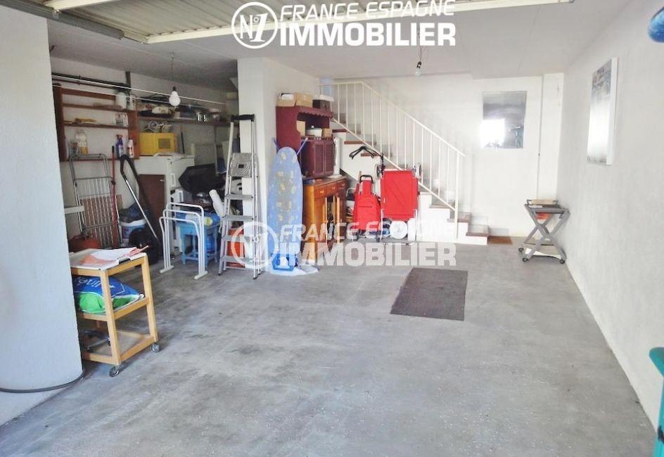 achat rosas espagne: villa 133 m², grand garage avec des rangements