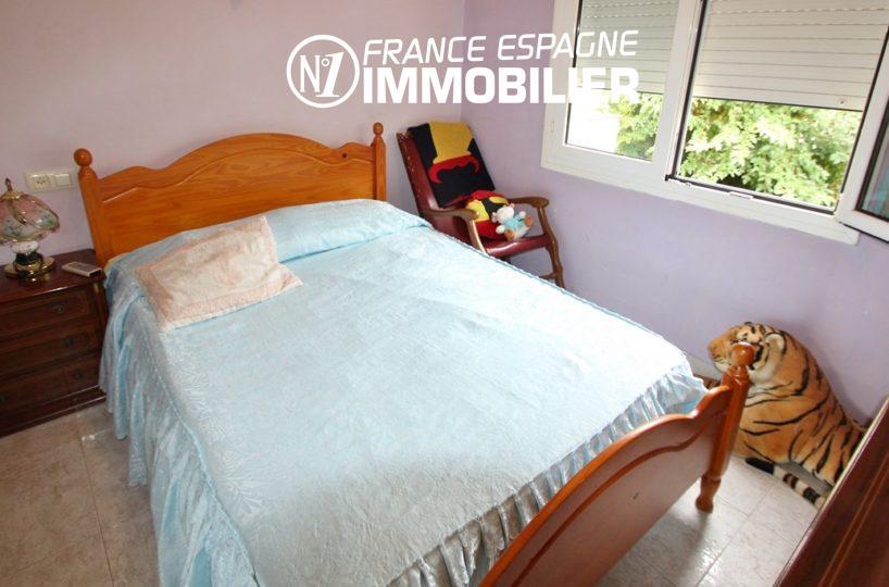 vente immobiliere rosas espagne: villa ref.2824, deuxième chambre avec lit double