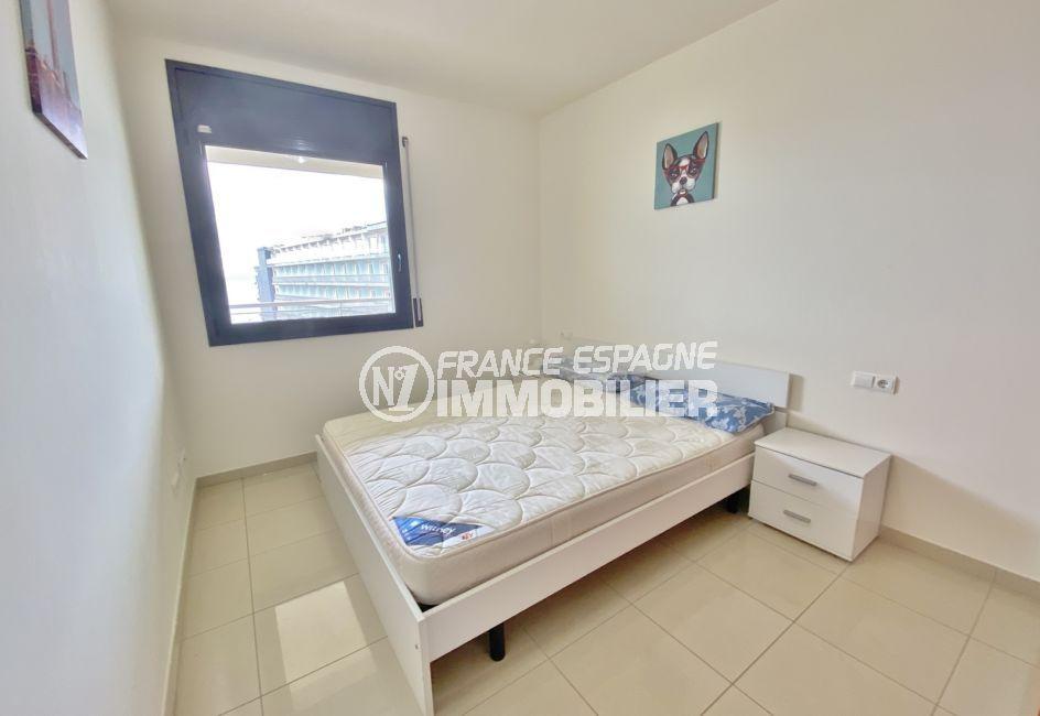 achat appartement costa brava, 3 pièces 85 m², 2° chambre à coucher avec lit double