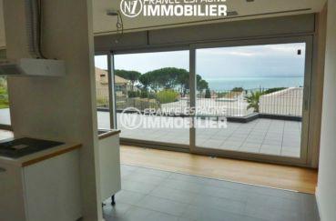 maison a vendre rosas vue mer, ref.2391, cuisine indépendante avec accès à la terrasse