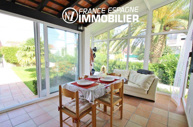 maison a vendre espagne catalogne: belle villa 3 chambres, piscine, jardin