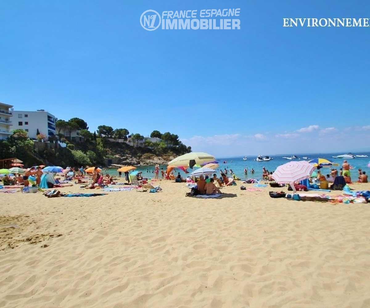 canyelles petites: villa ref.2667, plage à 400 m