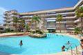 vente immobilier rosas espagne: appartement 58 m², résidence standing avec piscine