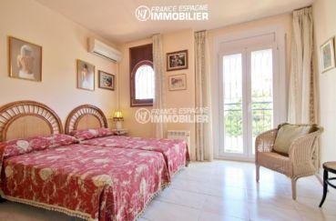 empuriabrava immobilier: villa ref.3271, seconde chambre avec 2 grands lits