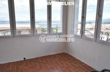 vue sur la terrasse véranda à aménager | villa ref.2560