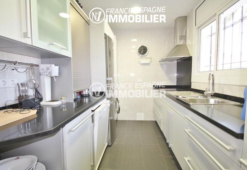 vente immobiliere rosas espagne: villa ref.3211, cuisine indépendante aménagée