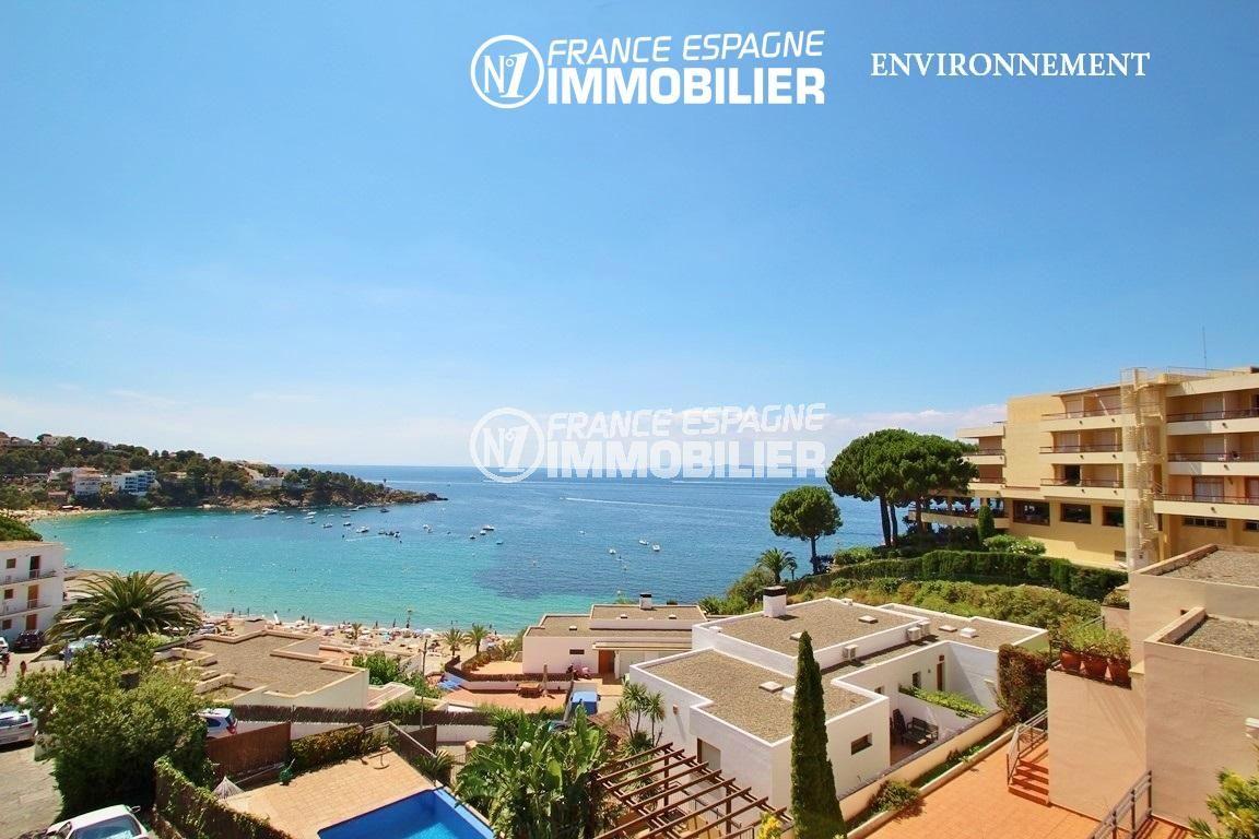 agence immobiliere roses espagne: villa ref.2735, vue sur la plage à proximité
