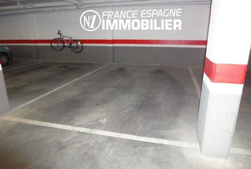 espagne rosas: appartement 85 m² atico avec piscine & parking privé