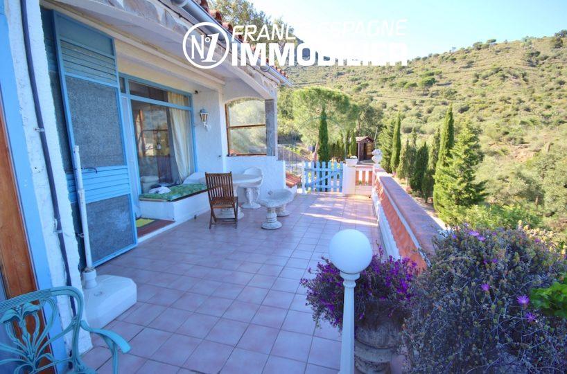 vente immobilier costa brava: villa ref.2901, terrasse à l'étage