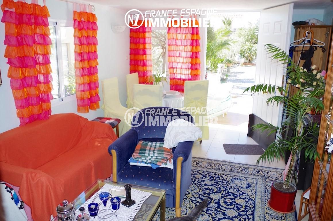 immo center rosas: villa ref.2497, appartement indépendant, séjour / salle à manger