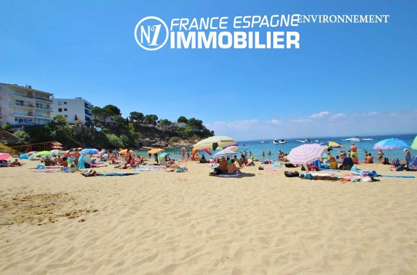 agence immobilière roses espagne: villa ref.2735, aperçu de la plage aux alentours
