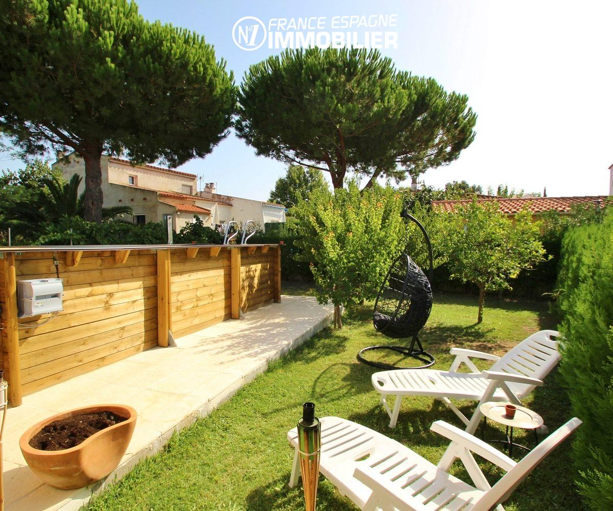 maison a vendre espagne bord de mer: villa 3 chambres, piscine & jardin