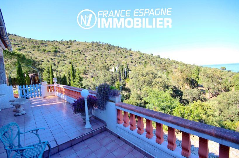 maison a vendre espagne catalogne,  ref.2901, vue terrasse et nature environnante