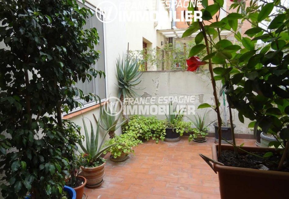 roses espagne: villa ref.2191, maison centre ville, plage à 500 m
