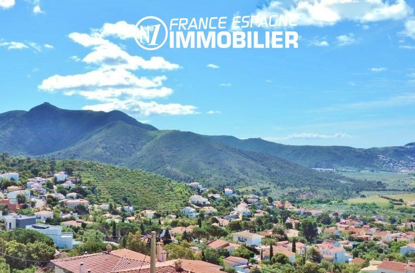 agence immo roses espagne: villa ref.2497, paysage montagnier à proximité