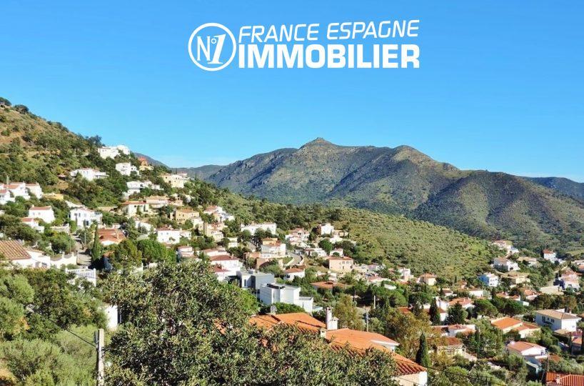 agence immobilière roses: villa ref.2497, vue sur les flancs des pyrénées aux alentours