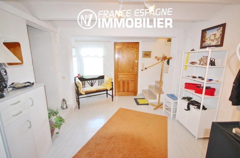 costa brava immobilier: villa 173 m² construit, ref.2901, hall d'entrée