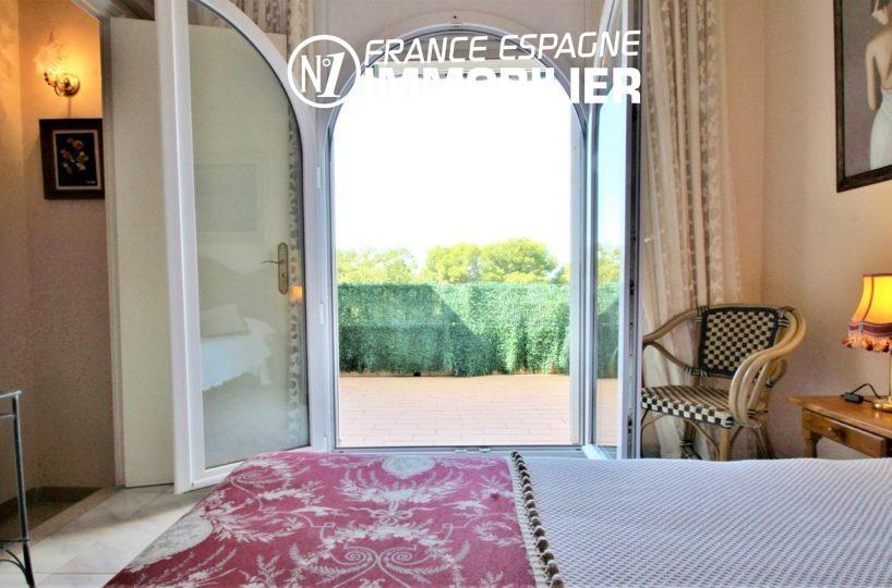agence immobilière costa brava: villa ref.3271, troisième chambre - vue latérale sur la terrasse