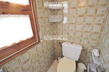 agence empuriabrava: villa ref.3271, avec wc indépendants