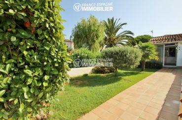 maison a vendre espagne costa brava: villa piscine, jardin, proche golf & plage
