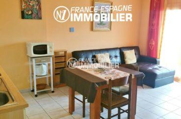 vente appartement rosas, ref.2477, proche plage et centre ville, parking