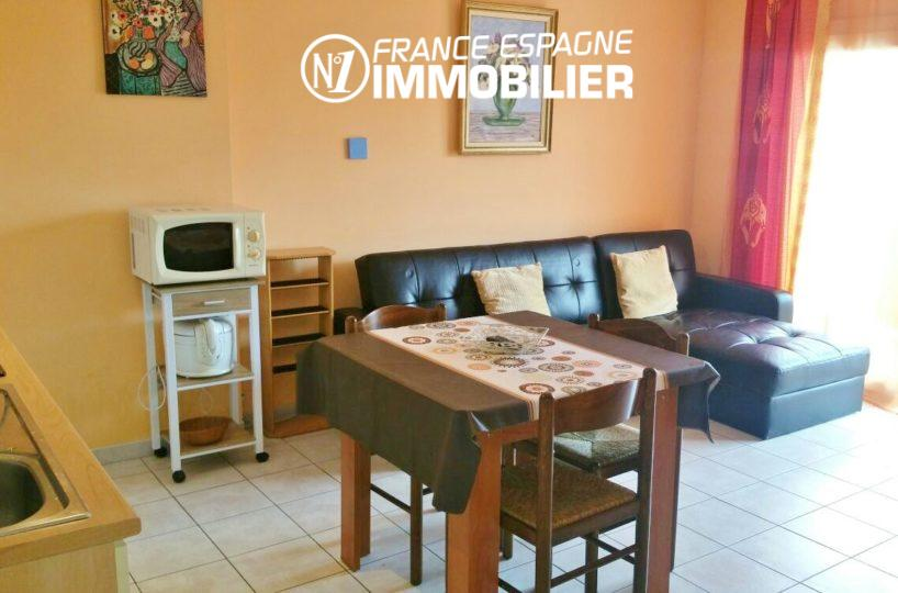 vente appartement rosas, ref.2477, proche plage et centre ville, parking