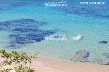 la costa brava: appartement ref.1741, magnifique plage d'Almadrava aux environs