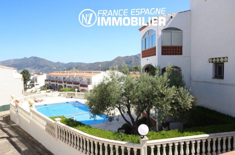 Immo Roses : belle villa avec piscine & garage