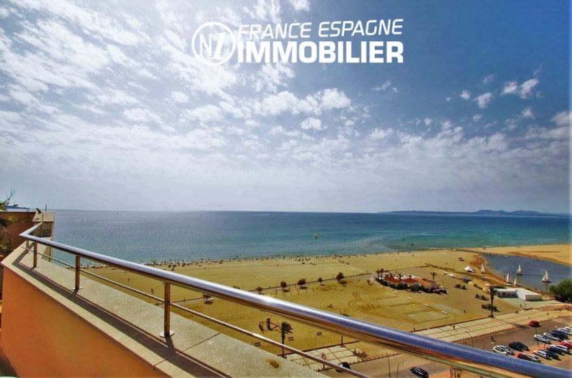 immobilier empuriabrava: appartement proche plage avecvue mer