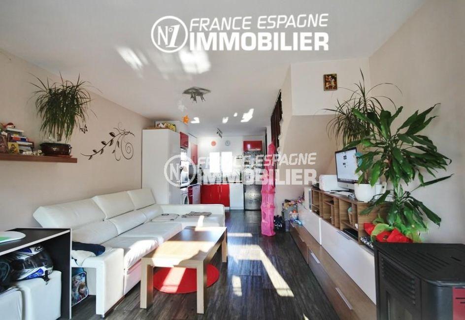 maison a vendre espagne, rosas: villa ref.3044, avec piscine, vue sur le séjour