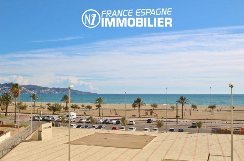 agence immobilière empuriabrava: bel appartement 1 chambre, proche plage, vue mer