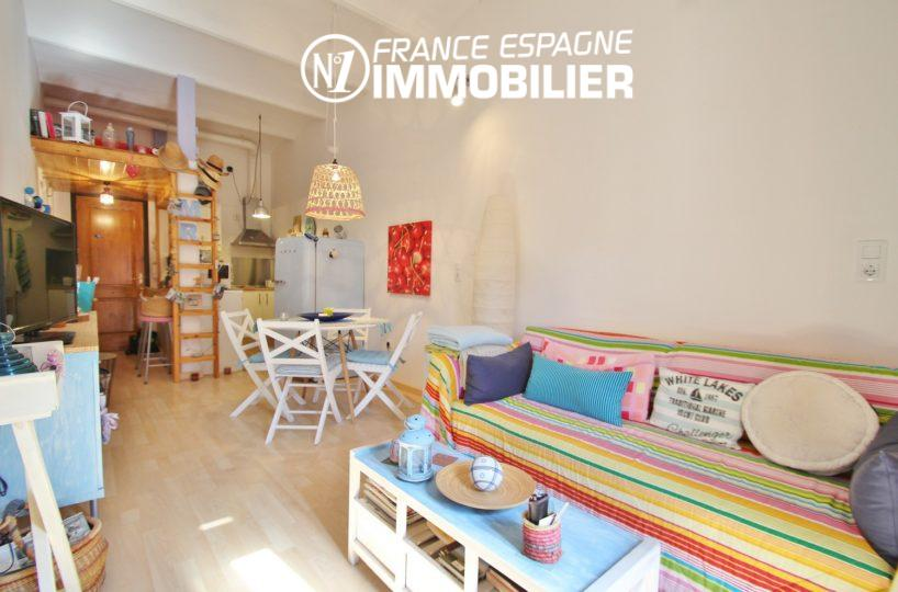 immo empuriabrava: appartement ref.3283, à castello d'empuries, terrasse commune sur toit