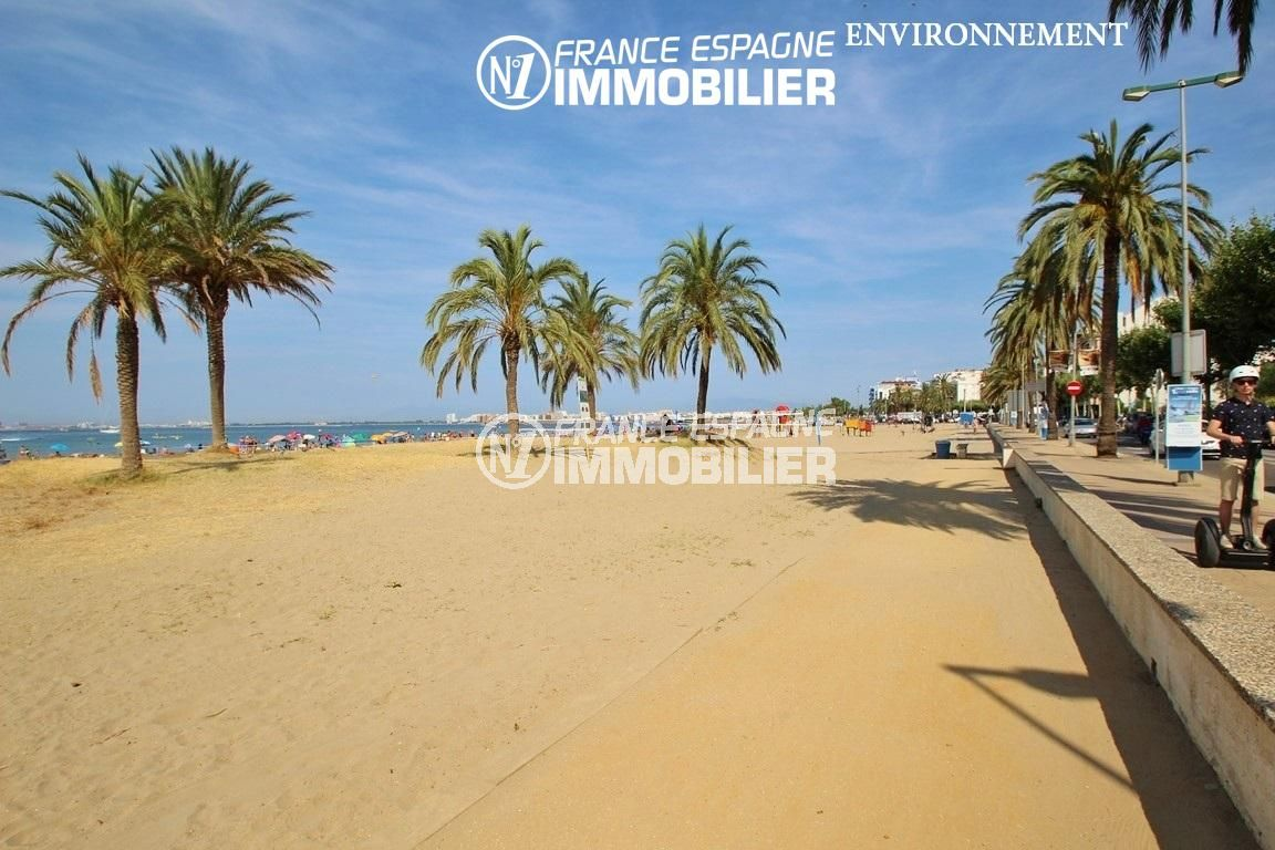 la costa brava: villa ref.2943, aperçu de la plage de roses aux environs