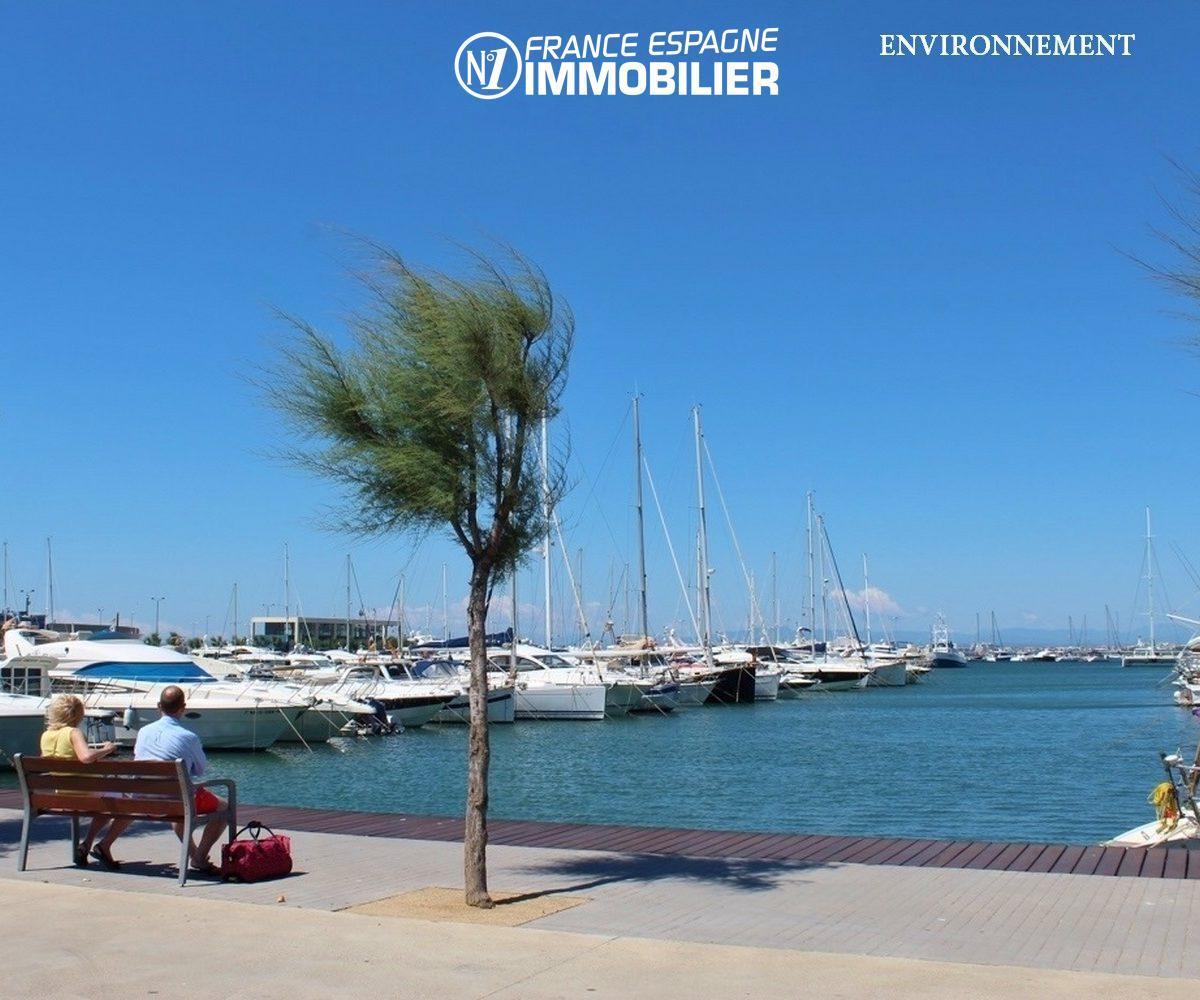 vente villa rosas, ref.3211, aperçu du port aux environs