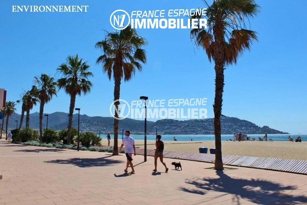 immocenter roses: villa ref.2824, promenade près de la plage environnante