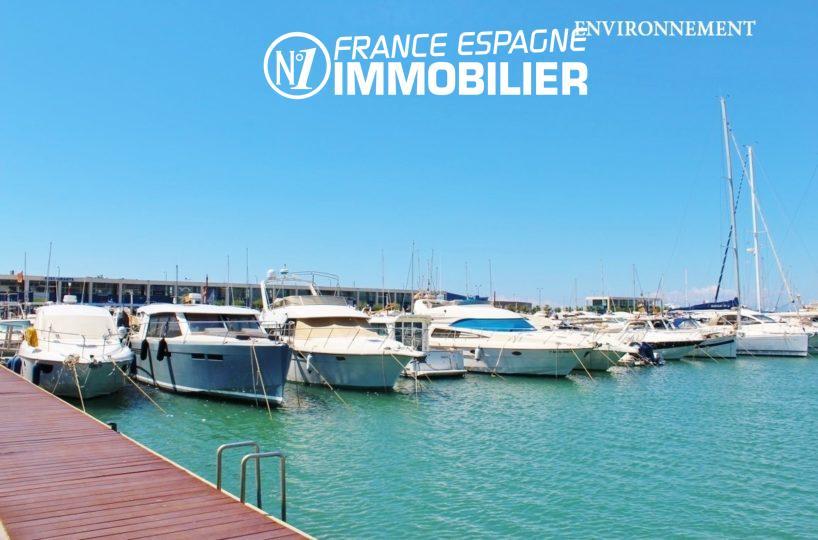 maison a vendre espagne catalogne, ref.2596, vue sur la marina à proximité