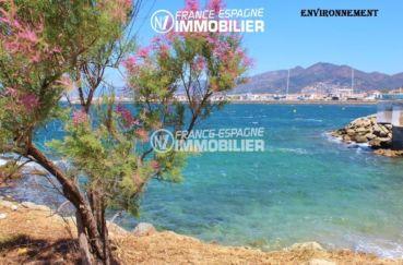 acheter appartement rosas, ref.3148, vue sur la plage et commerces à 600 m