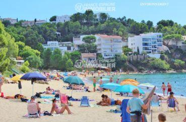 appartement costa brava, ref.2862, plage à 200 m secteur résidentiel