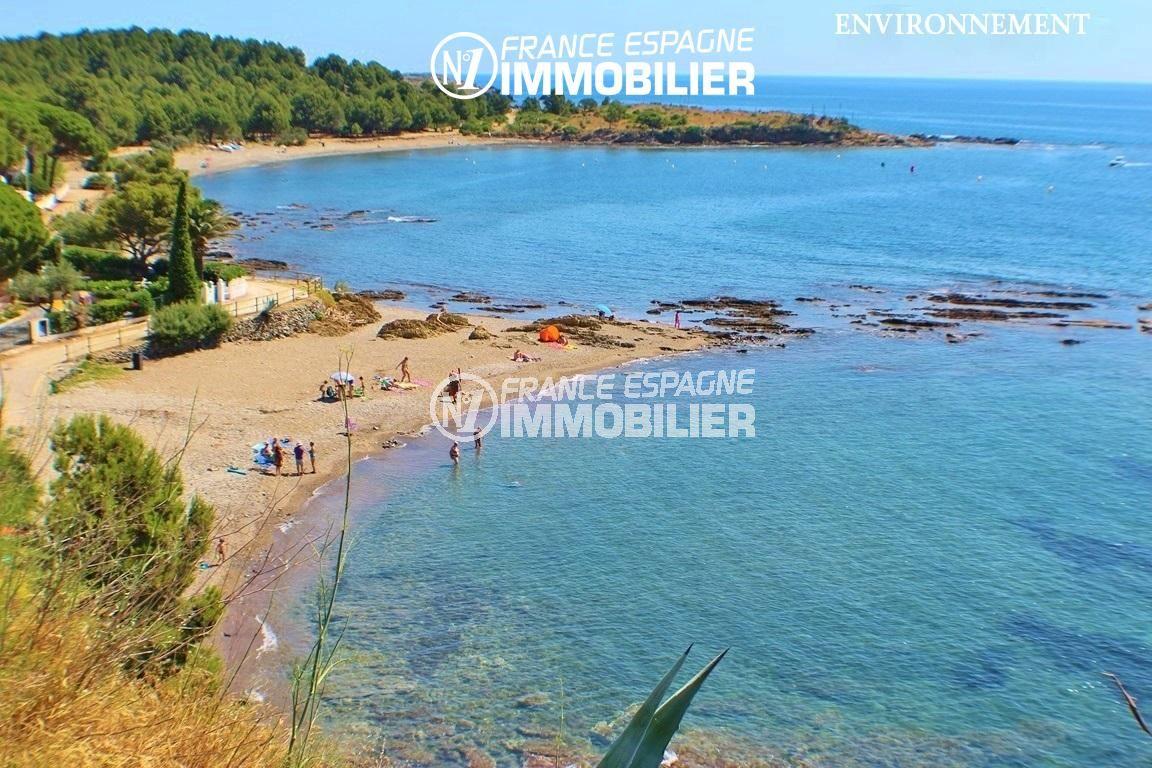 maison à vendre en espagne costa brava,  ref.2901, aperçu d'une plage aux environs de port de la selva