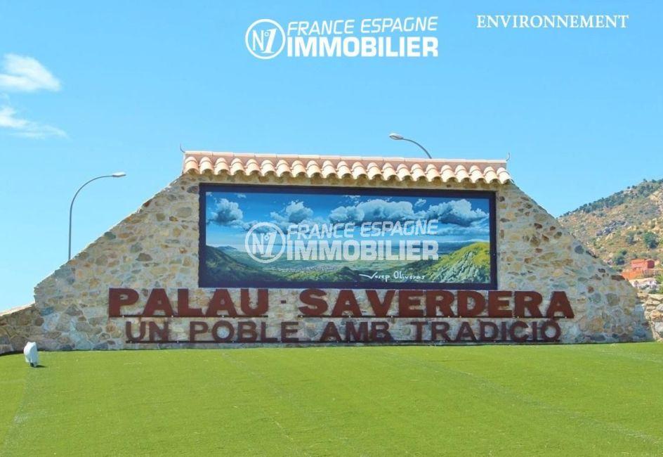 achat maison costa brava bord de mer, ref.2482, aperçu de l'entrée de la ville de palau