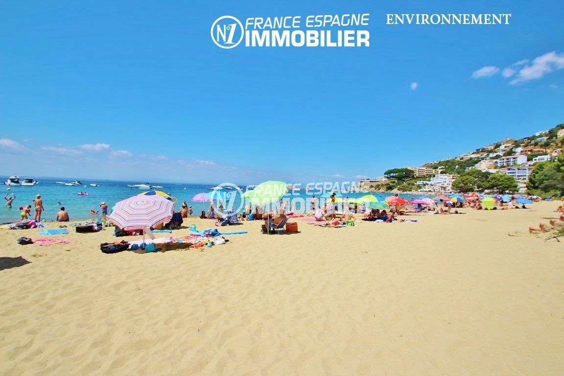 la costa brava: villa ref.2625, aperçu de la plage au sables fin à proximité