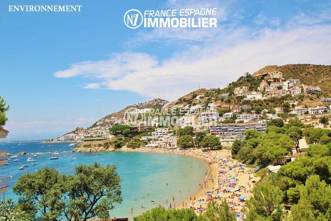 immocenter roses: villa ref.2625, magnifique paysage de la côte environnante
