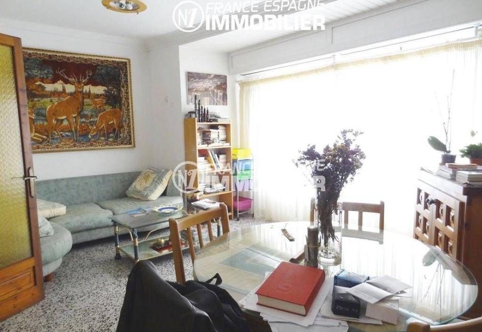 maison a vendre rosas, ref.2191, séjour avec coin salon