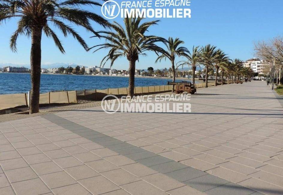 la costa brava: villa ref.2191, en centre ville, plage à 500 m