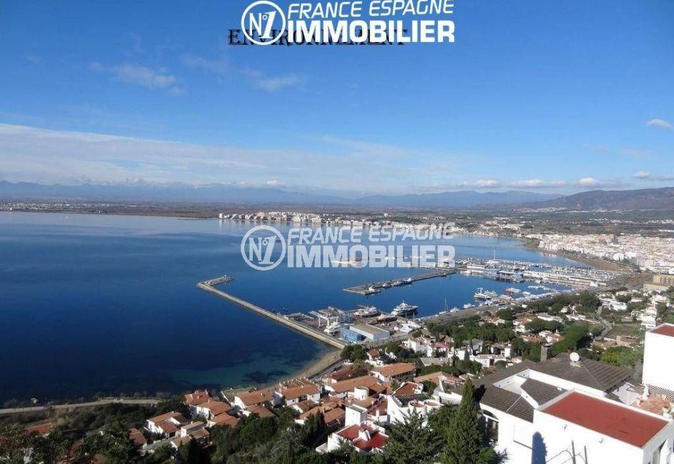 maison a vendre espagne bord de mer, ref.2191, vues sur la baie de rosas aux environs