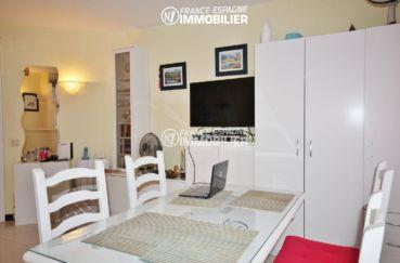 vente appartement empuriabrava, ref.3286, aperçu séjour / salle à manger