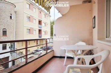 agence immo empuriabrava: appartement ref.3286, aperçu de la terrasse et du voisinage
