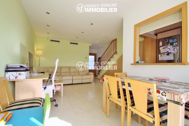 immobilier empuriabrava: villa ref.3287, vue séjour / salle à manger